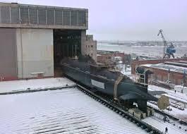 В России спустили на воду первую глубоко модернизированную подлодку третьего поколения