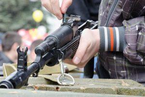 Сборка-разборка оружия как аттракцион