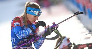 Стал известен состав женской команды России на эстафету ЧМ по биатлону