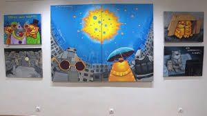 Выставка Васи Ложкина «Изыди, вирус окаянный!» открылась в Москве
