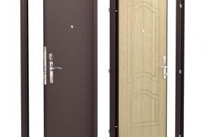 Входная стальная дверь: преимущества и важные характеристики