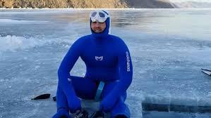Фридайвер установил на Байкале рекорд Гиннесса по глубине погружения