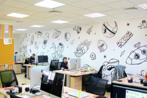 Как быстро и качественно оформить офис в корпоративном стиле