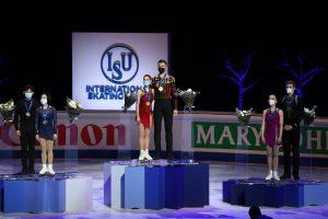 Россия взяла на чемпионате мира по фигурному катанию в Стокгольме три «золота» из четырех