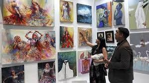 В Дубае проходит Международная Ярмарка современного искусства
