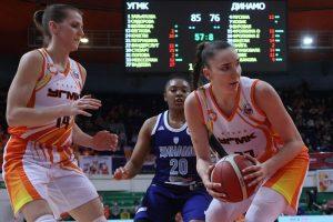 Баскетболистки УГМК в шаге от «золота» чемпионата России