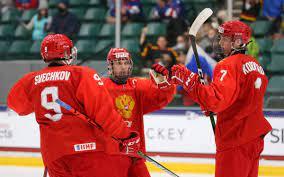 Сборная России вышла в полуфинал юниорского ЧМ по хоккею