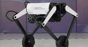 Tencent разработала двухколесного робота и научила его делать сальто