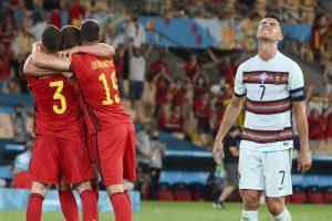 Роналду прокомментировал вылет сборной Португалии с Евро-2020
