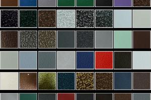 Порошковая краска антик: особенности, преимущества и сфера применения