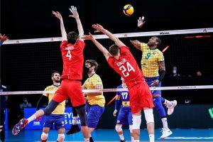 Мужская сборная страны не попала в полуфинал Лиги наций, уступив Франции 0,006 доли соотношения сетов