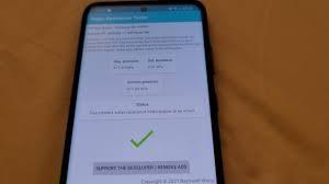 Приложение проверило герметичность смартфона по нажатию пальцев