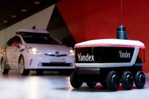 Роботы Яндекса привезут еду американским студентам