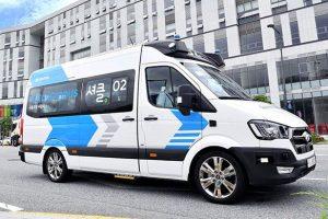 Hyundai запустит в Южной Корее беспилотную маршрутку