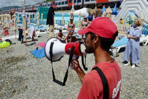 В Крыму привлекут к ответственности нарушителей техники безопасности на пляжах