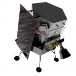 Компания Intuitive Machines доставит на южный полюс Луны прыгающего робота
