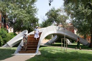 В Италии построили первый 3D-печатный бетонный мост без арматуры
