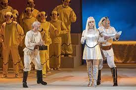 Постановку оперы Оффенбаха впервые показали на фестивале «Звезды белых ночей»