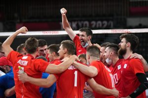 Российские волейболисты в финале Олимпиады сыграют с Францией
