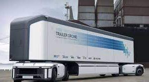 Hyundai представила концепт беспилотной водородной грузовой платформы